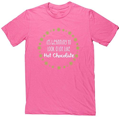hippowarehouse-herren-t-shirt-gr-xxl-rosa-pink