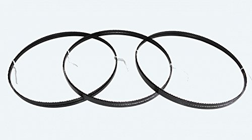 3 x Sägebänder Sägeband 2240 x 8 x 0,65 mm 6 ZpZ Holz Elektra Beckum Metabo Güde