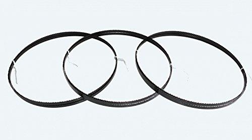 3 x Sägebänder Sägeband 2240 x 8 x 0,65 mm 6 ZpZ Holz Elektra Beckum Metabo Güde Test