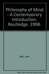 Philosophy of Mind - A Contemporary Introduction. Routledge. 1998.