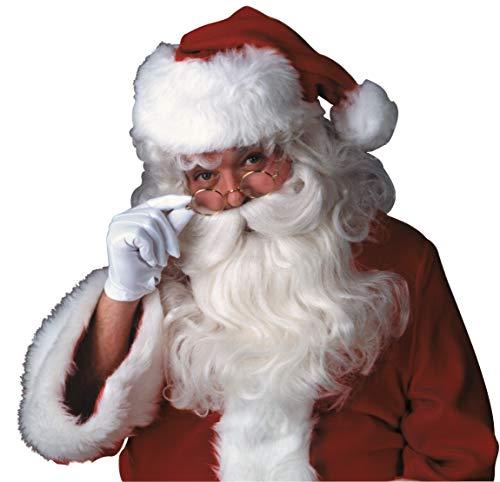 Rubies 2303 - Weihnachtsmann-Set Bart & (Rubies Weihnachtsmann Kostüm)