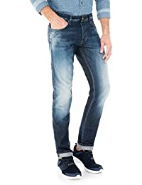 Salsa - Pantalons Lima tapered effet bleached - Homme