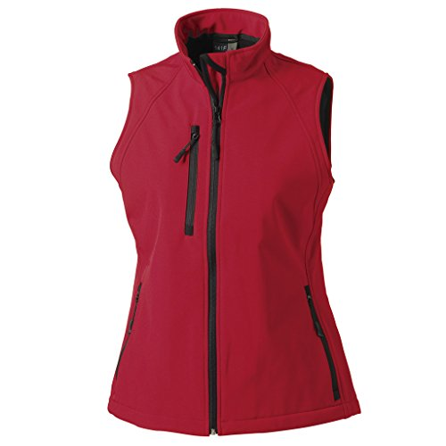 MAKZ -  Gilet  - Donna Rosso (Classic red)
