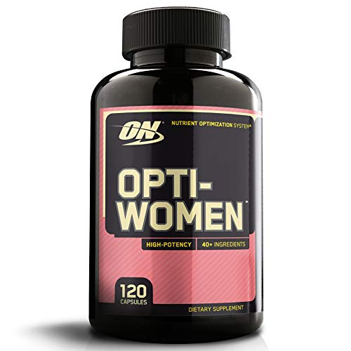Optimum Nutrition Opti-Women, Damen Multivitamin, 120 Kapseln - B-12 250 Mcg 100 Tabletten