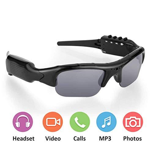 YWT Bluetooth-Sonnenbrillen-Kamera, 1080P Full HD-Videoaufzeichnungskamera, 32 GB interner Speicher und polarisierter UV-Schutz, Angeln, Sport im Freien
