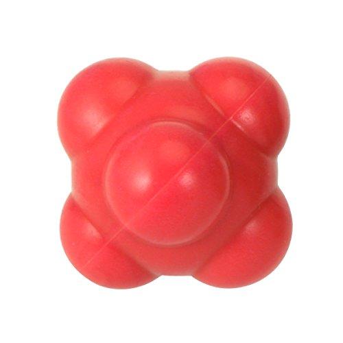 rosenice Hand-Auge-Reaktion Wendigkeit Baseball 58mm Kugel für eine außergewöhnliche Koordinierung entwickeln: Schwierigkeit Media (rot)