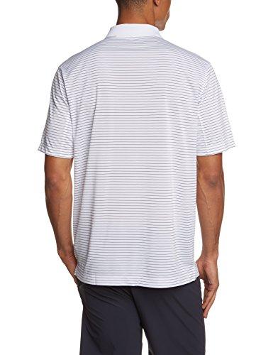 NIKE Herren Polohemd Victory Stripe White/Black
