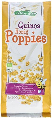 Allos Quinoa Honig Poppies, 3er Pack (3 x 200 g)