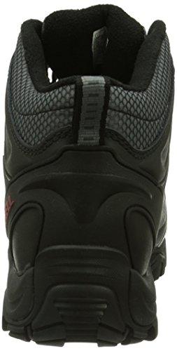 Merrell Polarand 6 Waterproof, Baskets Hautes Homme Noir (Black)