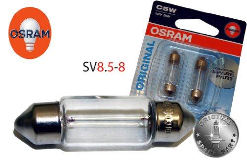 Osram C5W-8-438802 Kennzeichenbeleuchtung Set 36Mm C5W 12V 5W