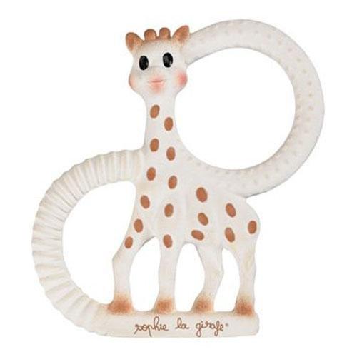 Vulli Sophie la girafe Beißring aus Naturkautschuk