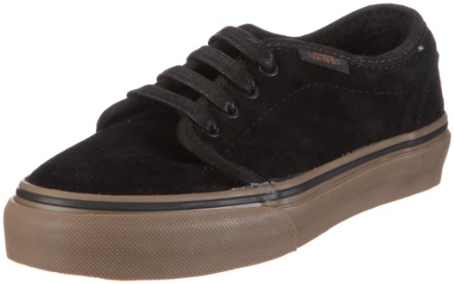 Vans K 106 VULCANIZED (Fleece)bk/dgum VKV3L7X, Sneaker, Uomo Nero