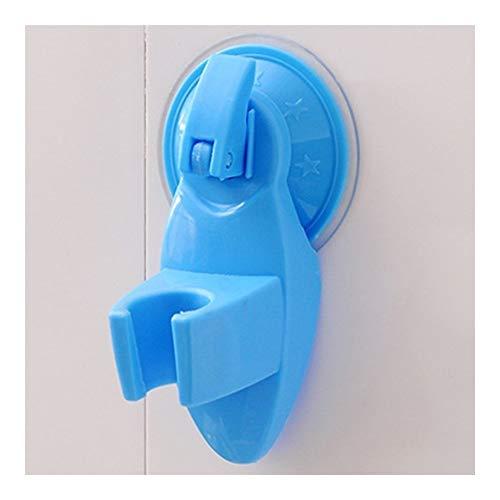 XIAOXINGXING Hohe Qualität Saugnapf Badezimmer Dusche Halter-Aufhänger Home Küche-Speicher-Mopp-Besen-Organisator-Rack (Color : Blue) -