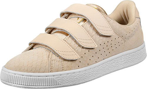 Puma Basket Strap Exotic Skin Femme Baskets Mode Naturel