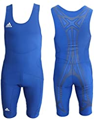 Adidas PowerWeb Wrestling Suit Mono Lucha Maillot Traje Hombres - Azul, 3XL | D13