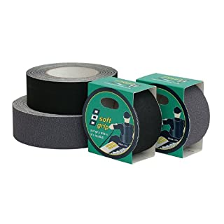 Admiral Tapes Tape Soft Grip Non-Slip Strips 50 mm x 4 m Grey 56188