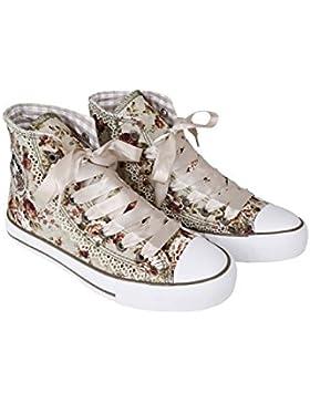 Krüger - Damen Trachtenschuhe, Sneaker Rokoko (Artikelnummer: 4124-15)
