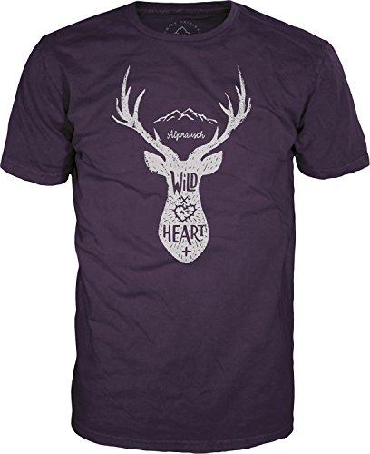 Alprausch Wilds Härz T-Shirt Lila