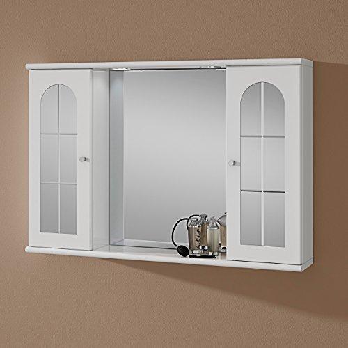 #Badezimmerspiegelschrank MARY zweitürig#