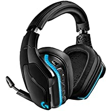 Logitech G935, Casque Gaming sans Fil avec son Surround 7.1, Transducteurs Pro-G 50 mm, LIGHTSYNC RVB