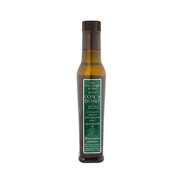 Olio extra vergine Biologico aromatizzato finocchietto - 25cl