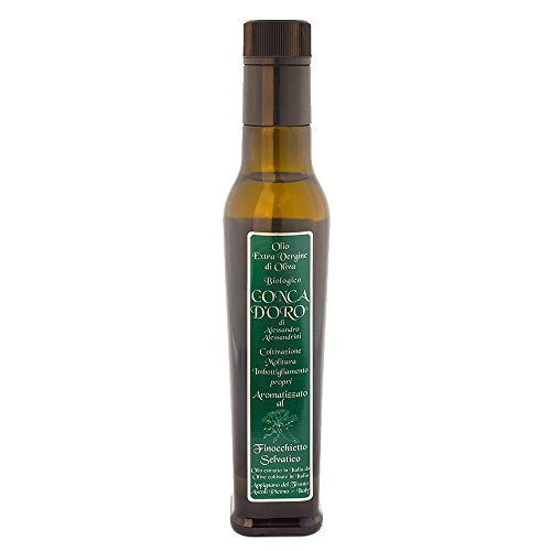 Fennel flavoured organic EV olive oil