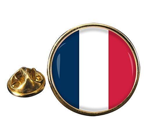 """""""Bandera De Francia"""" Redondo Pin De Solapa"""