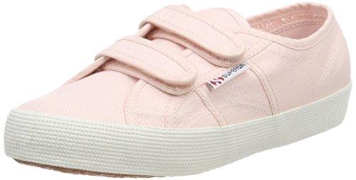 Superga Unisex-Kinder 2750 Cotbumpvel Sneaker, Pink (Pink), 25 EU