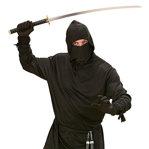 (Großes Katana Samurai Schwert Ninjaschwert Samuraischwert Kostüm Zubehör Ninja Krieger Karneval Asia Party)