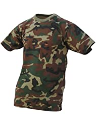 Benisport - Camiseta de niño manga corta, color caqui