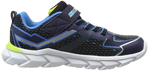 Skechers Assemblers, Sneakers Basses garçon Bleu (BNVL)