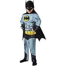 Batman - cómic Deluxe - Disfraz Infantil - Pequeño - 104cm - Edad 3-4