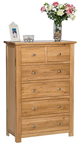 waverly-oak-6-drawer-chest-of-drawers-in-light-oak-finish-solid-wooden-storage