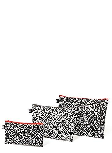 Loqi Museo Keith Haring 3bolsillos con cremallera Loqi