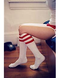 Outdoortips Unisex Soccer Baseball Basketball Sport Knee High Ankle Socks