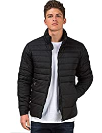 Ben Martin Men's Quilted Jacket-(BMW-JKT-FS-18012-BLK)