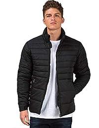 Ben Martin Men's Quilted Jacket-(BMW-JKT-FS-18012-BLK)