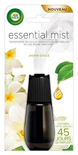 Air Wick Desodorisant Essential Mist Recharge Jasmin Étoilé 20 ml