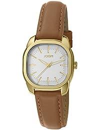 Joop! Damen-Armbanduhr Golden Leather Analog Quarz Leder JP101832002