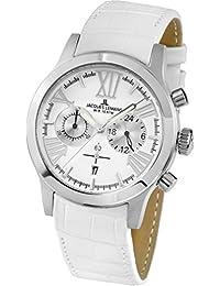 Jacques Lemans Damen-Armbanduhr Porto Analog Quarz Leder 1-1809B