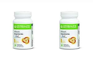 Herbalife Energy Drink Mix Lemon Flavour - Pack Of 2