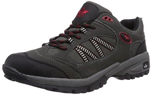 Homens Fazendeiro Lico De Trekking E Caminhadas Sapatos Meia Cinza (cinza / Preto / Vermelho)