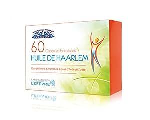 Huile de Haarlem 60 capsules Enrobées