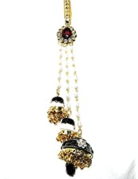 Indian Ethnic Designer Fashion High Quality Stone, Gold Plated Belly Kamar Guccha For Women And Girl - B07CM1H65N