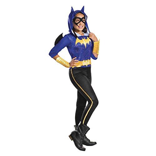 Warner-i-630017s-Kostüm Klassische Batgirl Superhero (Girls Batgirl Kostüm)