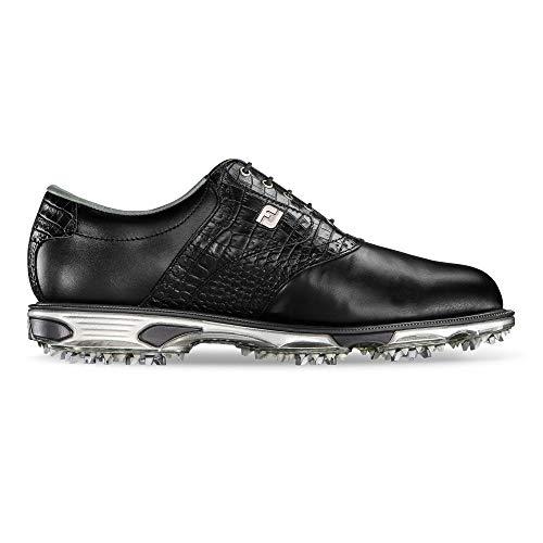 Foot-joy - Dryjoys Tour, Scarpe da golf Uomo, Nero (Black (Black/Black Croc)), 44.5 (M)
