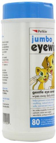 Petkin Jumbo Eye Wipes, Pack of 80 (pack of 4) 6