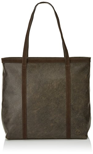 Timberland Damen Tb0m5495 Tote, Braun (Chocolate Brown), 15.5x36x38.5 cm (Brown Chocolate Tote)