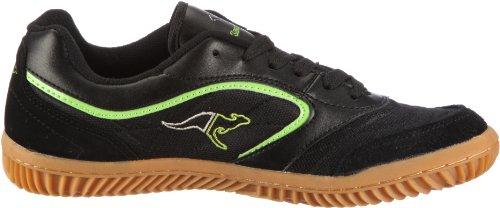 KangaROOS Kennis, Herren Sneakers Schwarz (blk/lime/silvergrey 581)