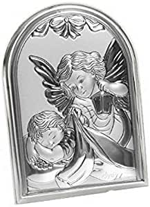 Argenti Annunziata Icona Sacra Famiglia Misura 27x21 Retro Legno